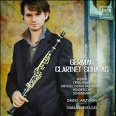 German Clarinet Sonatas - works by Weber, Stravinsky, Mendelssohn, Schumann / Dawid Jarzynski, clarinet; Tamara Chitadze, piano