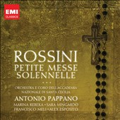 Rossini: Petite Messe Solennelle / Marina Rebeka, Sara Mingardo, Francesco Meli, Alex Esposito. Pappano