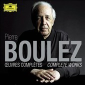 Pierre Boulez: The Complete Works / Pierre-Laurent Aimard, piano; Maurizio Pollini, piano; Christine Schafer, soprano [13 CDs]