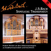 Bach: S&auml;mtliche Triosonaten / Herbert Meister