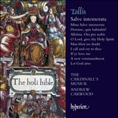 Thomas Tallis: Salve intemerata / Cardinall's Musick, Carwood