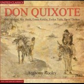 Henry Purcell: Don Quixote - musical contributions from Eccles, Sanley, Compton / Emma Kirkby, Evelyn Tubb, Joseph Cornwell et al.
