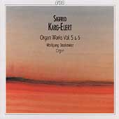 Karg-Elert: Organ Works Vol 5 & 6 / Wolfgang Stockmeier