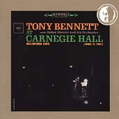 Tony Bennett: At Carnegie Hall