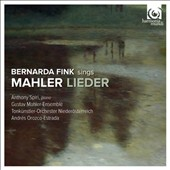 Mahler: Songs of a Wayfarer; Kindertotenlieder / Bernarda Fink, mz; Anthony Spiri, piano