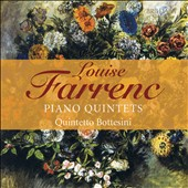 Louise Farrenc (1804-1875): Piano Quintets Nos. 1 & 2, Opp. 30-31 / Quintetto Bottesini