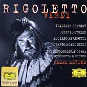 Verdi: Rigoletto / Levine, Chernov, Studer, Pavarotti, et al