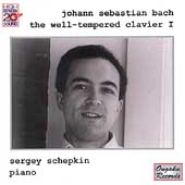 Bach: Well-Tempered Clavier Book 1 / Sergey Schepkin