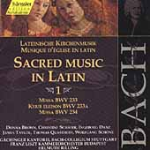 Edition Bachakademie Vol 71 - Sacred Music in Latin 1
