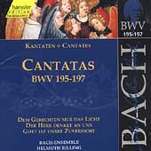 Edition Bachakademie Vol 59 - Cantatas BWV 195-197 / Rilling