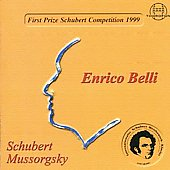 1st Prize Schubert Competition 1999 - Schubert, et al /Belli