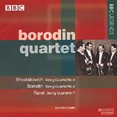Shostakovich, Borodin, Ravel: String Quartets / Borodin