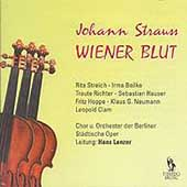 Strauss Jr.: Wiener Blut / Lenzer, Streich, Richter, et al