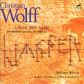 Wolff: Look She Said, etc / Black, Lorentz, Josephson