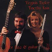 For Flute & Guitar / Virginia Taylor, Timothy Kain