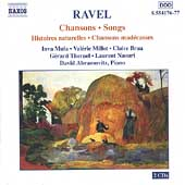 Ravel: Songs / Mula, Millot, Brua, Naouri, Abramovitz, et al