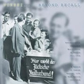 Various Artists: Beyond Recall: A Record of Jewish Musical Life in Nazi Berlin, 1933-1938 [Box]