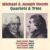 Michael & Joseph Haydn - Quartets and Trios