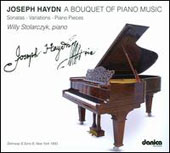 Joseph Haydn - A Bouquet of Piano Music / Willy Stolarczyk, piano