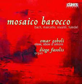 Sonatas for oboe by Bach, Marcello, Vivaldi & Handel - 