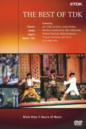 The Best of TDK - Ballet, Opera & Concert Highlights featuring Gardiner, Kleiber, Domingo, Nucci et al. [DVD]
