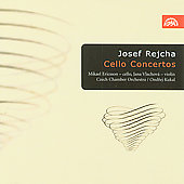 Reicha: Cello Concertos / Kukal, Ericsson, Vlachov&#225;, et al