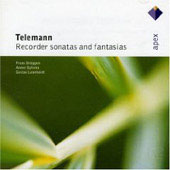 Telemann: Sonatas & Fantasias For Recorder