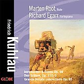 Kuhlau: Duo brilliant, Grande Sonata, etc / Root, Egarr