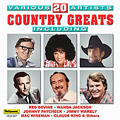 Various Artists: 20 Country Greats [Hollywood/Deluxe]