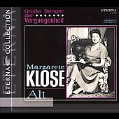 Eterna Collection - Grosse S&auml;nger der Vergangenheit / Klose