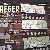 Reger: Grand Organ Works / Gerd Zacher