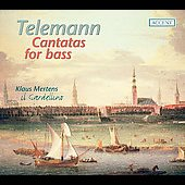 Telemann: Cantatas for bass voice / Mertens, Il Gardellino