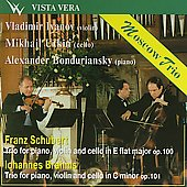 Schubert, Brahms: Piano Trios / Moscow Trio