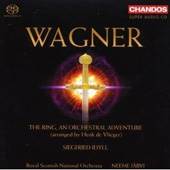 Wagner: The Ring arranged by Vlieger / J&auml;rvi, et al