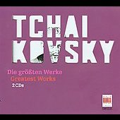 Greatest Works - Tchaikovsky / Masur, Sanderling, Kogan, R&ouml;gner, et al
