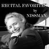 Nissman Recital Favorites Vol 2 / Barbara Nissman