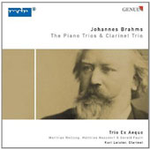 Johannes Brahms: The Piano Trios & Clarinet Trio