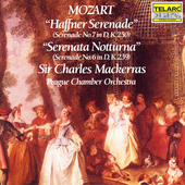 Classics - Mozart: Haffner Serenade, etc / Mackerras