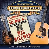 Mac Wiseman: Bluegrass 1971