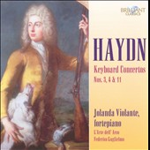 Haydn: Keyboard Concertos Nos. 3, 4 & 11 / Violante