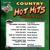 Karaoke: Chartbuster Karaoke: Hot Hits Country October 2011