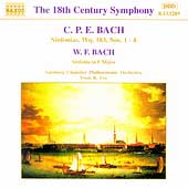 The 18th Century Symphony - C. P. E. Bach, W. F. Bach