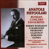 Russian Concert Favourites by Tchaikovsky, Prokofiev, Glazunov, Borodin, Glinka / Anatole Fistoulari, conductor (rec. 1956-58)
