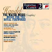 Take 2 - Handel: The Water Music, etc / Boulez, et al