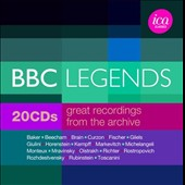BBC Legends: Great Recordings from the Archive / Performances by Horenstein, Mravinsky, Gilels, Richter, Toscanini, Rostropovich, Giulini et al.