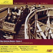 New American Masters, Vol. 5 - chamber works by Paul Moravec, James Chwalyk, David Sampson, Donald Womack, Raymond Wojcik, Steve Perillo / Palisades Virtuosi