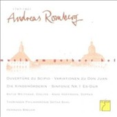 Andreas Romberg: Music at the Court of Gotha - Arias & Orchestral Works / Thuringian State SO, Gotha-Suhl; Breuer