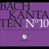 Bach: Cantatas, Vol. 10 - BWV 66, 84 & 111 / Choir & Orchestra of the J.S. Bach Foundation; Lutz