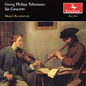 Telemann: Six Concerts / Music's Recreation