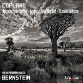 Aaron Copland (1900-1990): Orchestral works - Appalacian Spring, Rodeo, El Salon Mexico, Billy the Kid and Music for the Theatre / New York PO, Leonard Bernstein